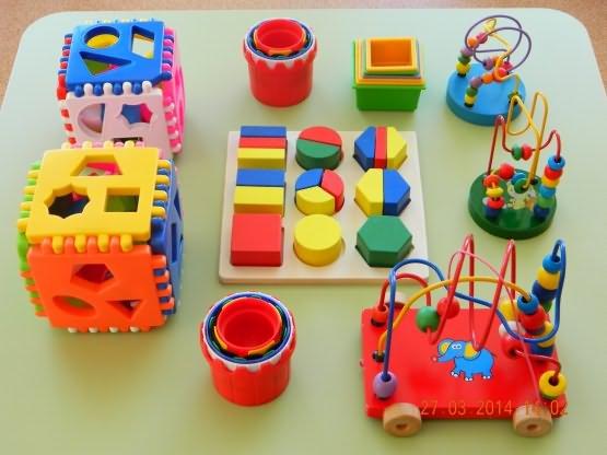 Игрушки для развития сенсорики и моторики детей