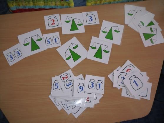 Занятие по математике в ДОУ для детей. Подготовительная группа